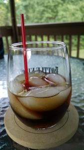 Chocolate Raspberry cocktail