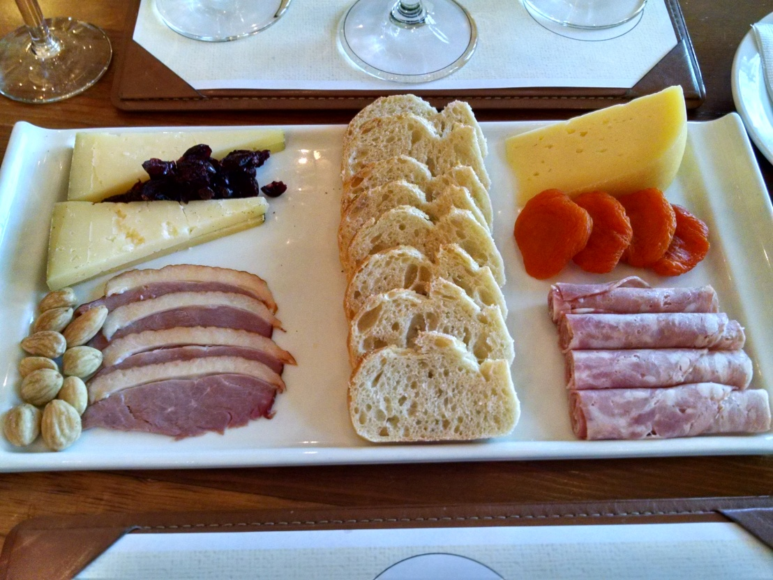 Sterling Cheese Charcuterie Platter