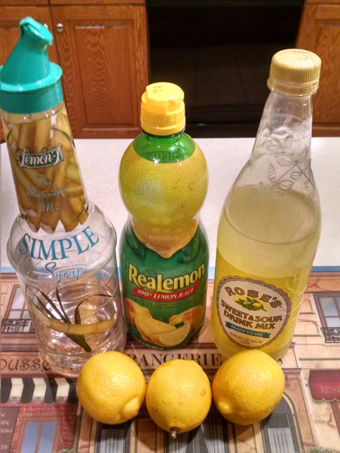 Lemon Mixer Lab