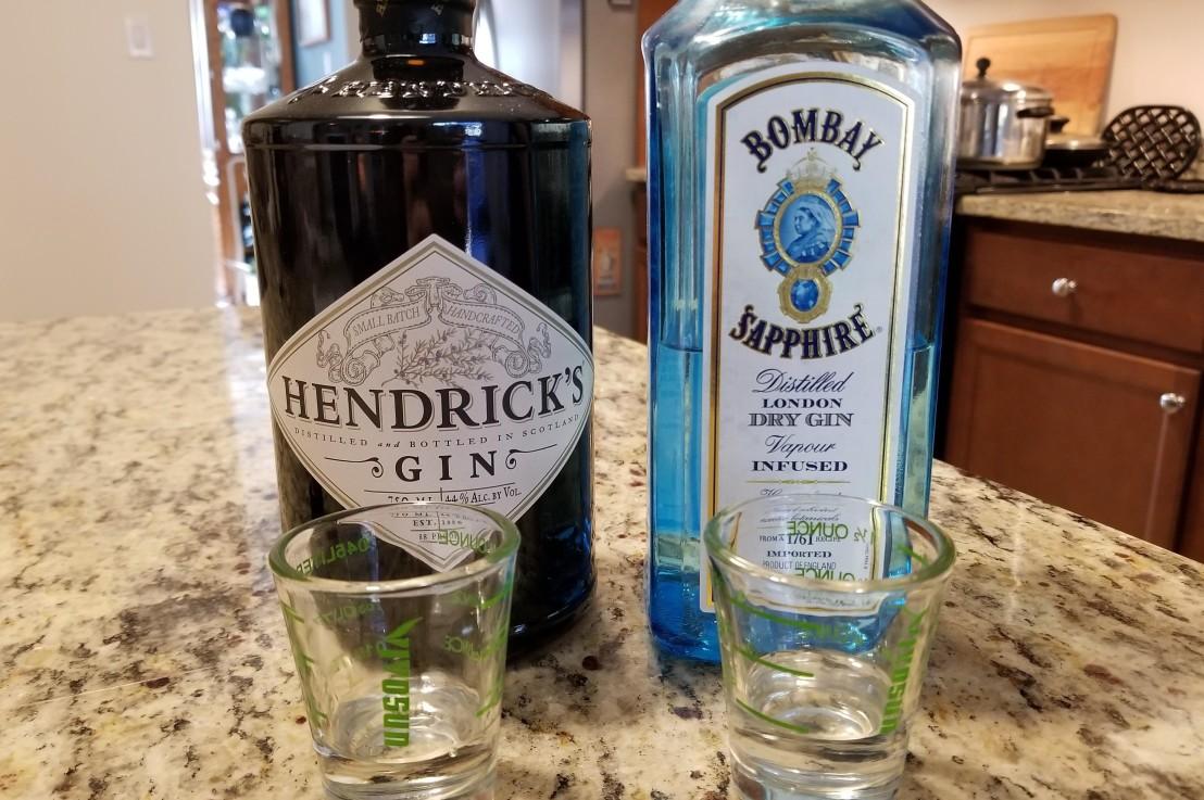 Hendrick's vs. Bombay Sapphire: GinThrowdown